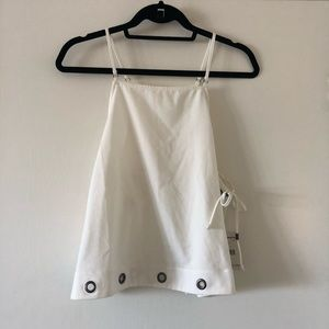 NEW: White Free People Crop Top